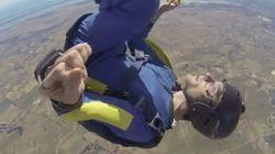ASSISTA: homem entra em convulsão durante salto de