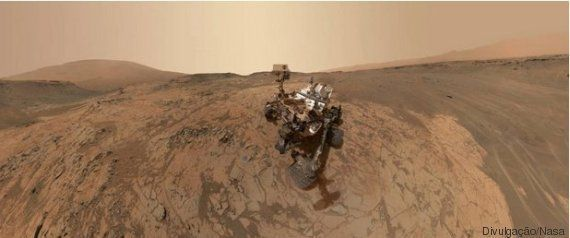 Nasa divulga a primeira foto do pôr do sol de Marte e, surpresa! Ele é