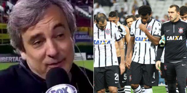'Presenteado por Deus', diretor do Corinthians viraliza nas redes sociais com entrevista antes da eliminação...