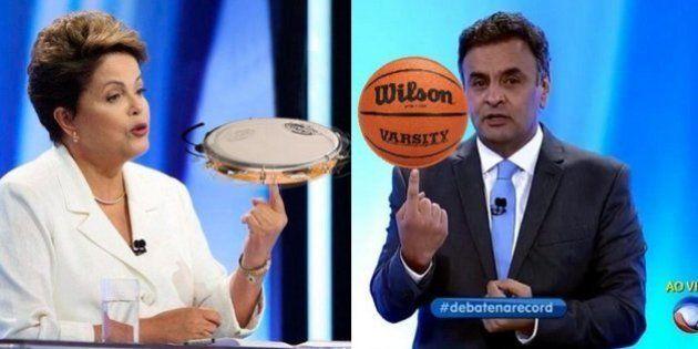 #DebateNaRecord: os principais memes do debate dos presidenciáveis deste 2º turno na TV