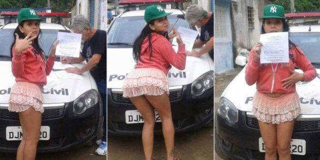 Jovem atira óleo quente em amiga e debocha da polícia no Facebook ao receber intimação no Guarujá