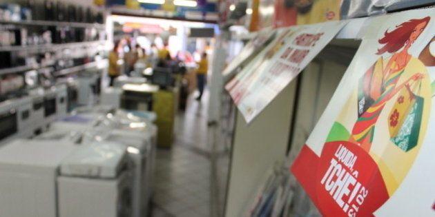 Fotos da promoção do Liquida Tche da FCDL-RS na loja CR Die Mentz, em Porto Alegre.Foto: Marcelo