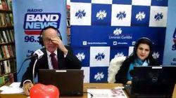 'Fora, Beto Richa': Curitibanos interrompem Ricardo Boechat para repudiar