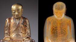 Cientistas descobrem múmia dentro de estátua de Buda