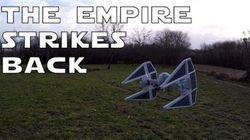 O drone mais incrível de todos os tempos imita uma aeronave de Star