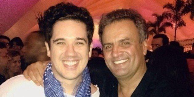 Em reta final de campanha, celebridades reforçam apoio a Aécio Neves
