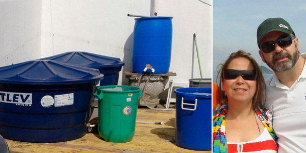 Engenheiro cria sistema caseiro de captação de água da chuva e recebe da Sabesp conta