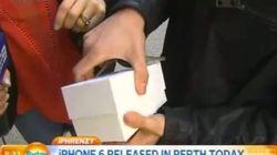 Ele foi um dos primeiros a comprar o iPhone 6 e...