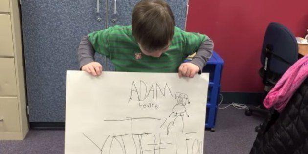 Menino de dez anos tem ataque de pânico ao conhecer Adam Levine. E a banda reagiu do jeito mais
