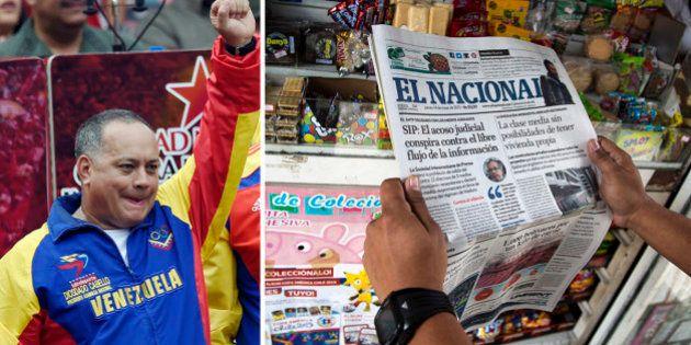 Jornalistas da Venezuela acusam líder do Parlamento de comandar um esquema de tráfico e são proibidos...