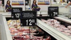 Policiais pagam fiança de homem que roubou carne para dar ao