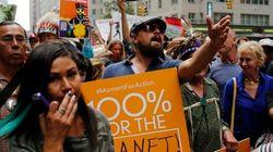 FOTOS: Centenas de milhares vão às ruas de NY em marcha pelo