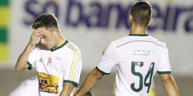 Goiás humilha Palmeiras com derrota história de 6 x 0 e deixa time na