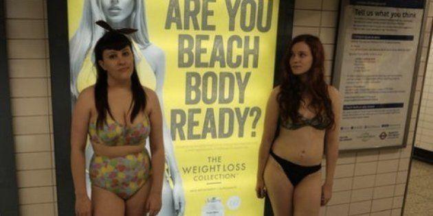 Um anúncio perguntou: está com o 'corpo preparado para a praia'? Veja o que elas