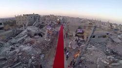 Gaza estende tapete vermelho e realiza festival de cinema no meio das