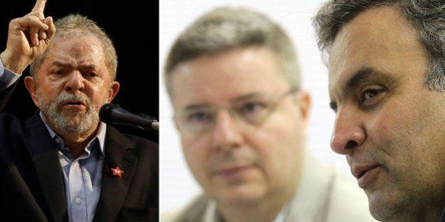 Lula critica Beto Richa, gestões tucanas em MG e diz que PT 'conseguiu em cinco meses fazer o que não...