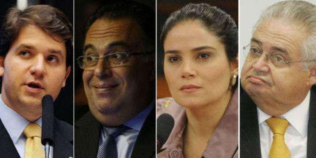 Quatro ex-deputados são os primeiros políticos a se tornarem réus na Lava