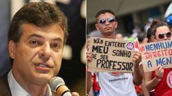 Governador do PR bate recorde de rejeição e vai à Justiça pelo fim da greve dos
