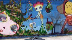 'O grafite é a emergência de uma demanda, de um pedido, de uma situação ignorada e
