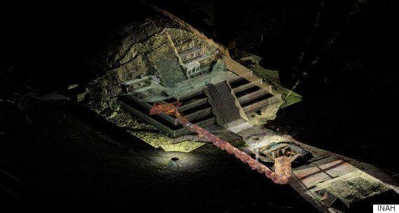 Um rio de mercúrio líquido, descoberto sob uma pirâmide no México, pode lançar nova luz sobre a antiga...