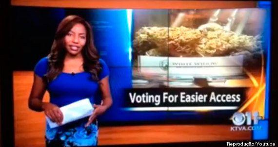 Repórter se demite ao vivo em telejornal para lutar pela legalização da maconha