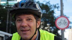 Haddad lidera pedalaço no Dia Mundial Sem Carro e quer bikes sem