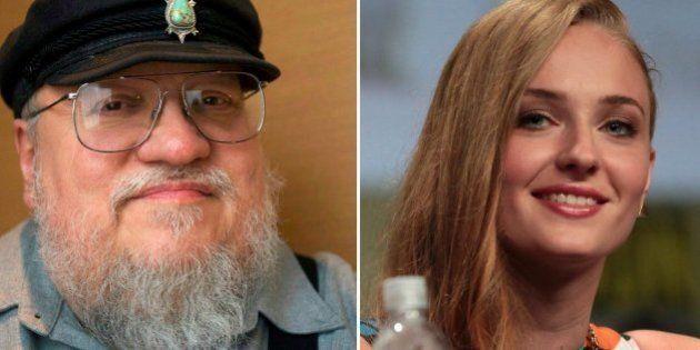 Sophie Turner e George R.R. Martin comentam AQUELA cena do último episódio de 'Game of Thrones'