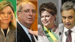 Lista do Janot traz Gleisi e Paulo Bernardo; Dilma e Aécio serão