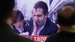 Embaixador dos EUA é atacado com golpes de faca na Coreia do