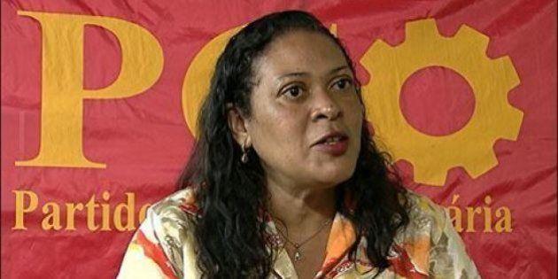 Candidata ao governo de MG, Cleide Donária é agredida por defender desmilitarização e é vítima de