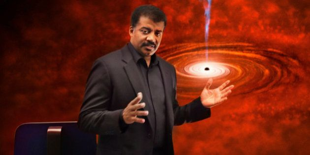 COSMOS: A SPACETIME ODYSSEY: Neil deGrasse Tyson in the the 'A Sky Full of Ghosts' episode of COSMOS: A SPACETIME ODYSSEY airing Sunday, March 30, 2014 (9:00-10:00 PM ET/PT) on FOX and Monday, March 31, 2014  (10:00-11:00 PM ET/PT) on Nat Geo. (Photo by FOX via Getty Images)