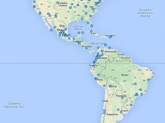 Ciclovias recreativas e ciclofaixas de lazer pela América