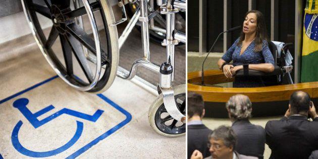 Câmara aprova Lei Brasileira de Inclusão para portadores de deficiência física; Projeto agora vai para...