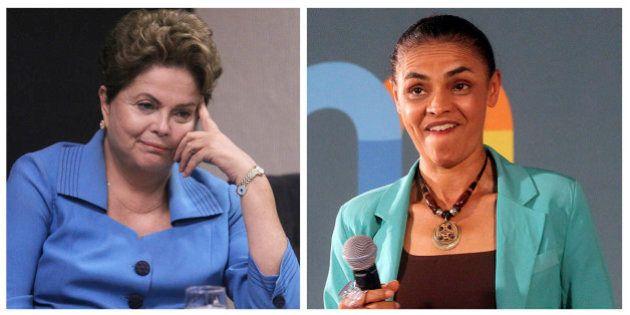 Marina cai seis pontos no 1° turno; Já Dilma oscila para baixo dentro da margem de erro, mostra pesquisa