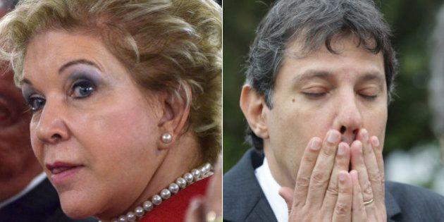 Senadora Marta Suplicy troca o PT pelo PSB em maio para concorrer à Prefeitura de São Paulo em 2016,...