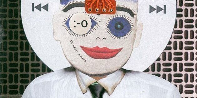 handmade, scissor n´glue collage to illustrate an article about technology (folha de s. paulo newspaper)....