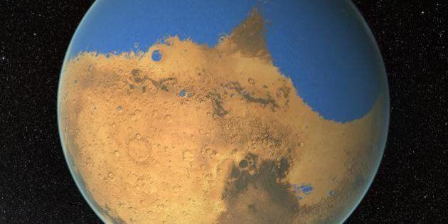 Marte já teve um oceano maior que o ártico, dizem cientistas da