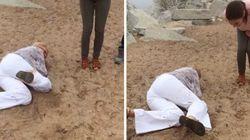ASSISTA: Mãe 'arruína' pedido de casamento da filha ao cair de cara no