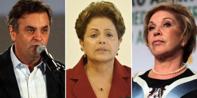 Aécio Neves e Marta Suplicy criticam pronunciamento de Dilma Rousseff no Dia da Mulher com argumentos