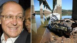'O pior já passou', diz Alckmin sobre racionamento de água em