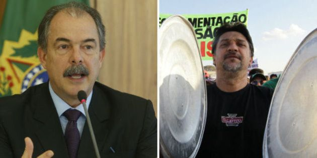 Ministro da Casa Civil, Aloizio Mercadante diz que não há terceiro turno eleitoral e defende ajuste