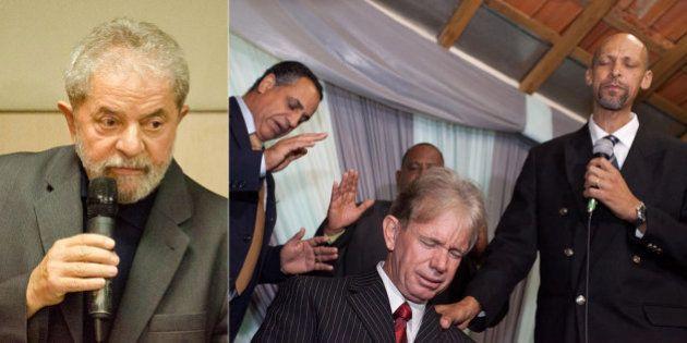 Lula ironiza pastores evangélicos em palestra: : 'Jogam a culpa em cima do diabo. Acho fantástico