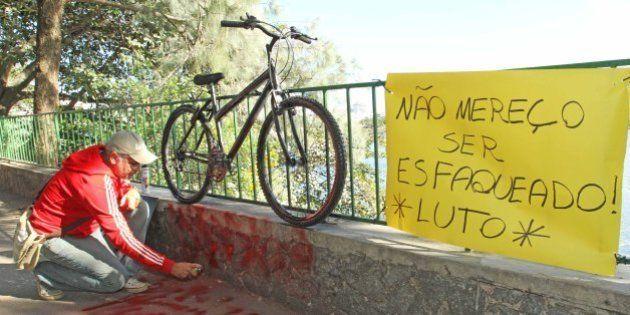 Adolescente de 16 anos é apreendido suspeito de ter esfaqueado ciclista no
