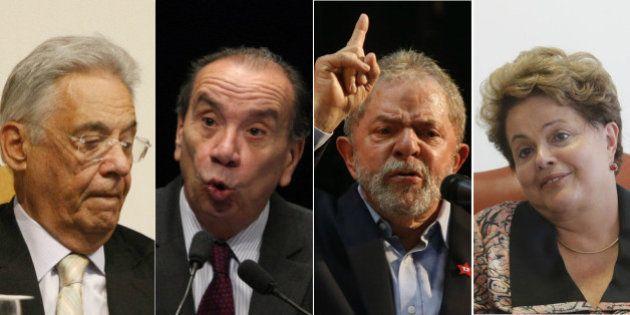 FHC diz que coalizão de Lula está falida e Aloysio Nunes afirma que quer ver a presidente
