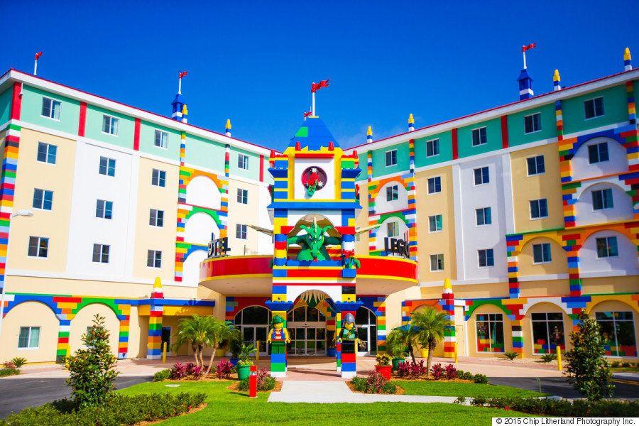 Novo hotel 'Legoland' prova que tudo realmente é incrível