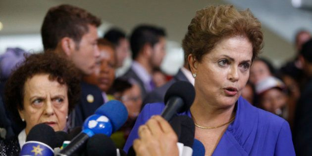 Dilma Rousseff diz que protestos são legítimos e reforça que não há terceiro