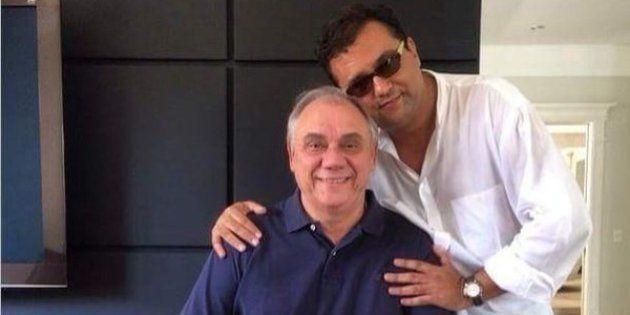 Marcelo Rezende, Geraldo Luis e um espelho de cocaína? Esta foto não é exatamente o que parece