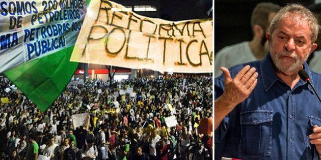 Lula convoca MST para ato em defesa da Petrobras e contra impeachment na sexta-feira