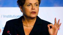 Dilma é vaiada em evento da construção em São