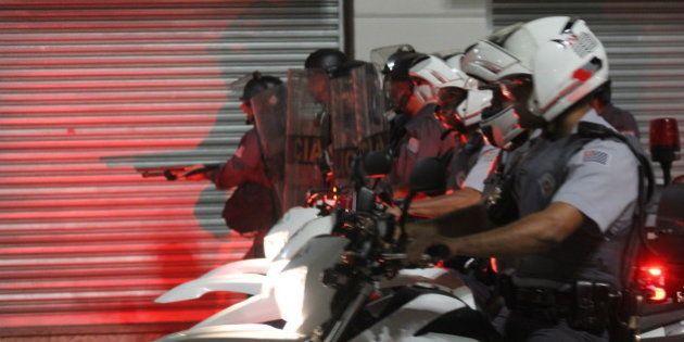 Protesto contra aumento das passagens em São
